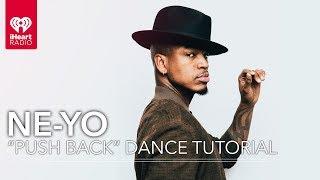 """Ne-Yo Gives A """"Push Back"""" Dance Tutorial + Dances With Fans!"""