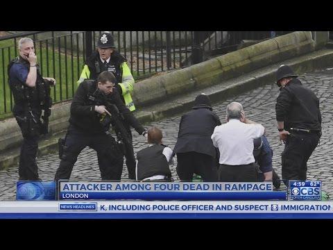 4 dead in London terror incident, including attacker