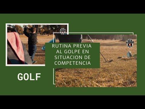 DeporTips: Rutina previa al golpe en golf