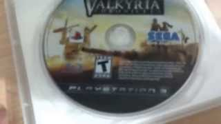 Unboxing - Valkyria Chronicles (PS3)