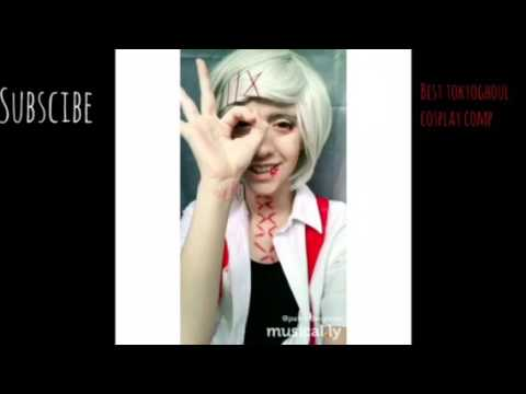 BEST TOKYO GHOUL COSPLAY MUSICAL.LY COMP (2017)