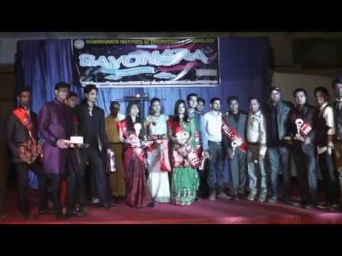 Farewell Award Distribution SIET Allahabad 2014 (Leaked Video)