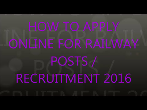 Indian railway online application form