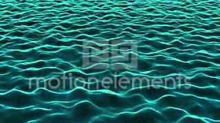 Abstract Waves Of Digital Information Stock Animation / CG動画素材