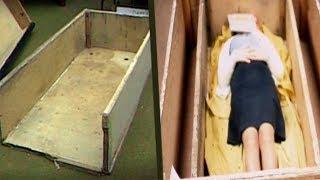 Её держали в ящике 23 часа в сутки