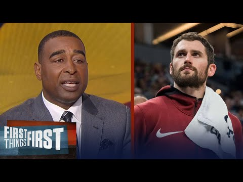 Cris Carter praises Kevin Love's strength in opening up about his mental health | FIRST THINGS FIRST