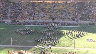 """Cal Band """"Vive la France"""" Show featuring Get Lucky by Daft Punk"""