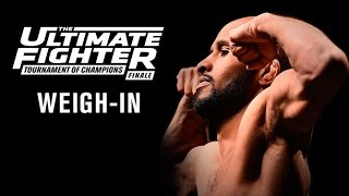 The Ultimate Fighter A Tournament of Champions Finale: Official Weigh-in