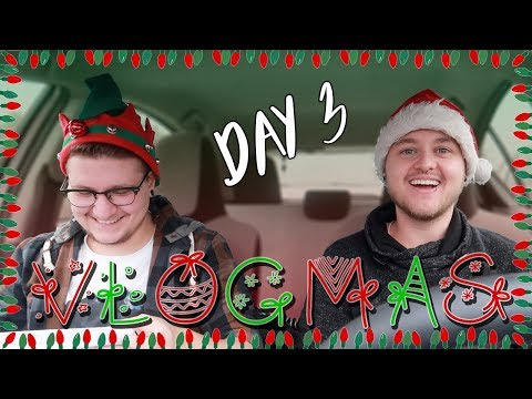 SENDING OUT THE CHRISTMAS CARDS - ROADTRIP ft. AARON (VLOGMAS DAY 3)