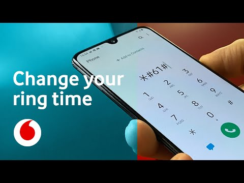 How to change how long my phone rings before going to voicemail | Tech tips | Vodafone UK