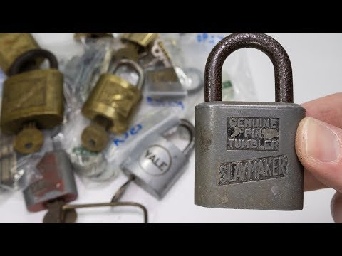 Unboxing Of Some Beautiful Slaymaker Padlocks!