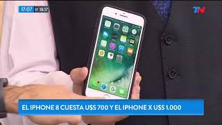 Apple presentó el iPhone 8 y el iPhone x