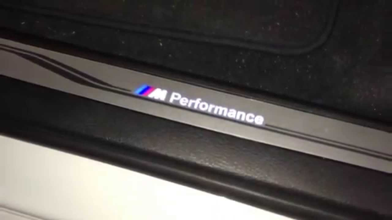 Rg Sport Bmw F15 F16 X5 X6 Led Door Sill Youtube