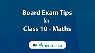 CBSE Class 10 : Mathematics Tips