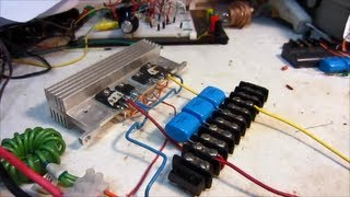 How to Build a ZVS Driver, Run, and Mosfet Failure
