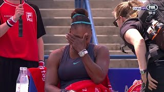 Serena Williams' emotional exit | The Back Page