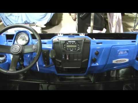 2016 Polaris Ranger 900 XP Factory Radio Install