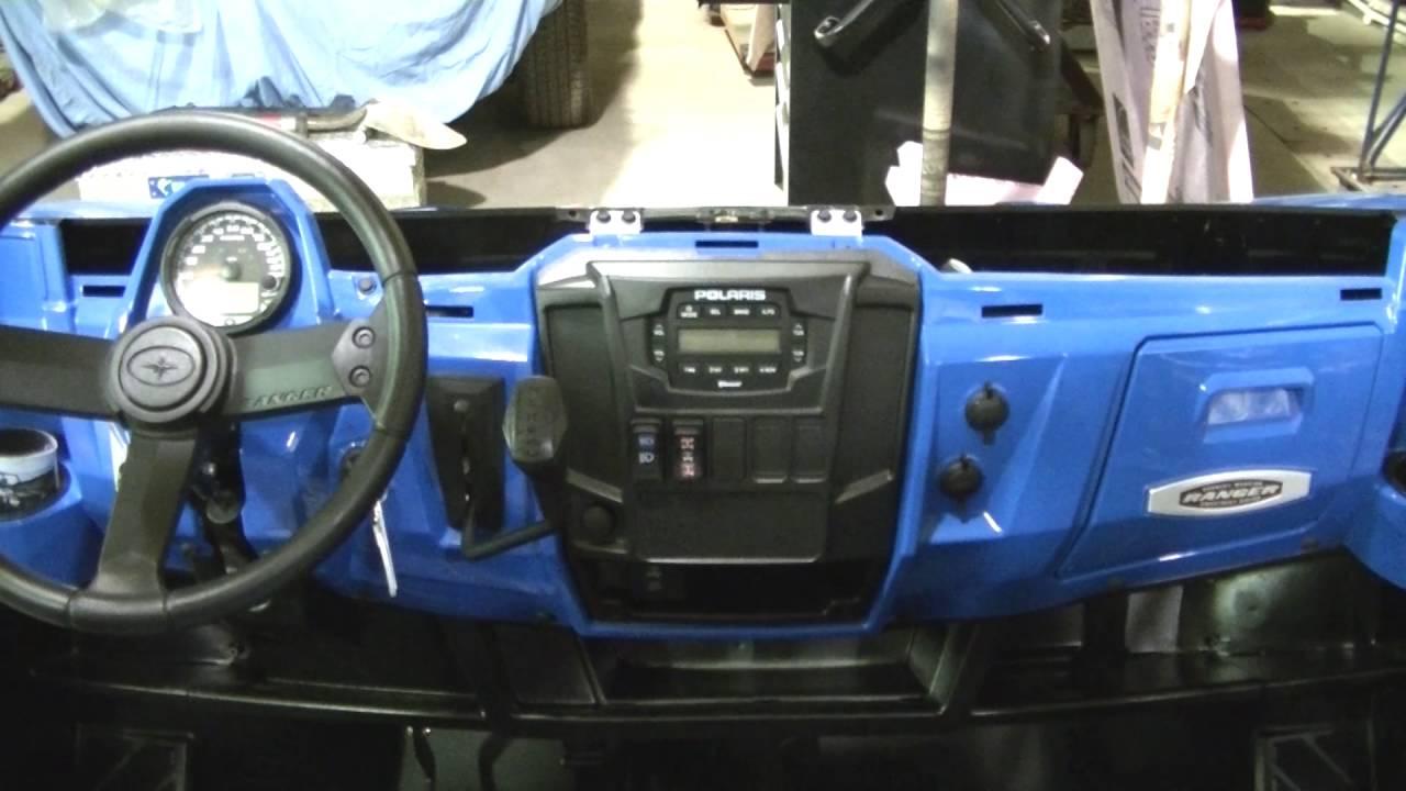 hight resolution of 2016 polaris ranger 900 xp factory radio install