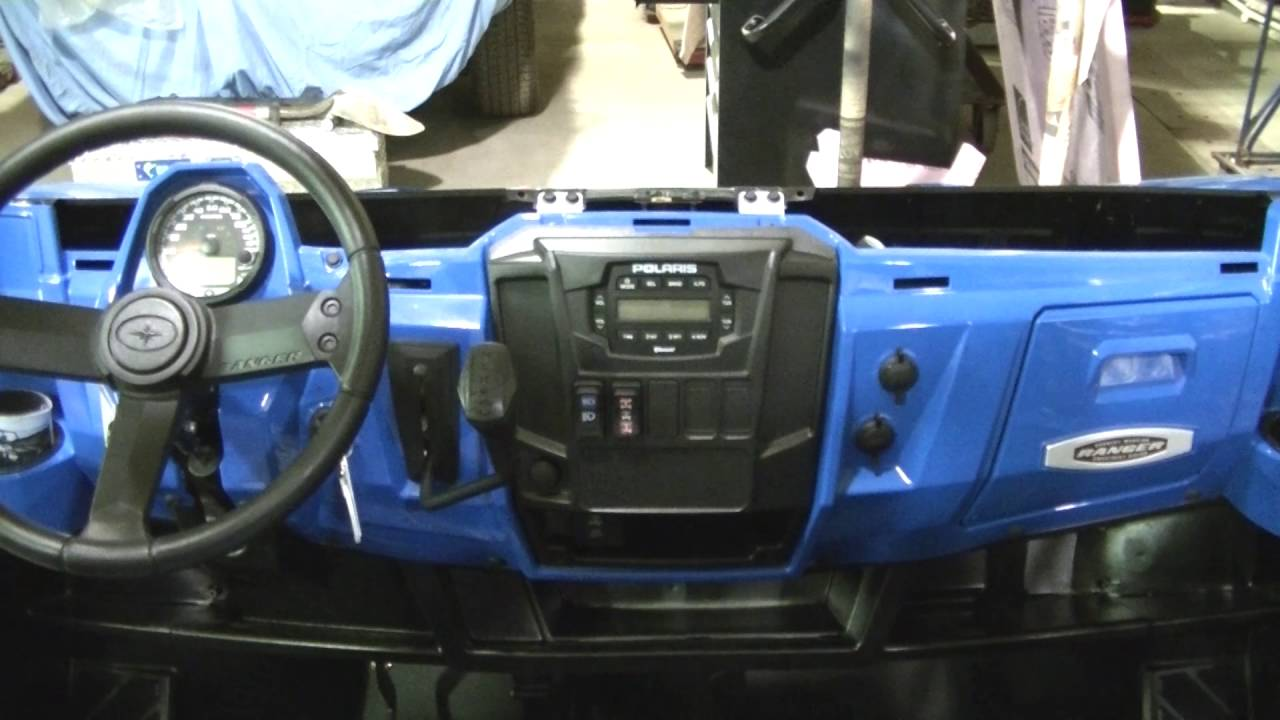 2016 Polaris Ranger 900 Xp Factory Radio Install Youtube