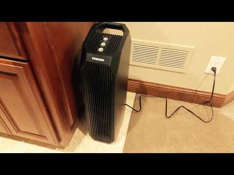 Review - Toshiba Smart WiFi Air Purifier Model CAF-W36USW