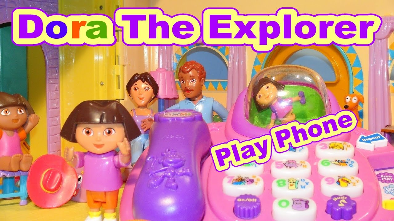 Dora The Explorer Play-Set Telephone with Music, Sounds ...