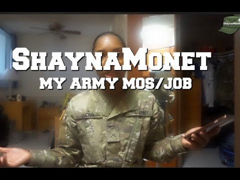 My Army MOS:JOB 92Y {ShaynaMonét}
