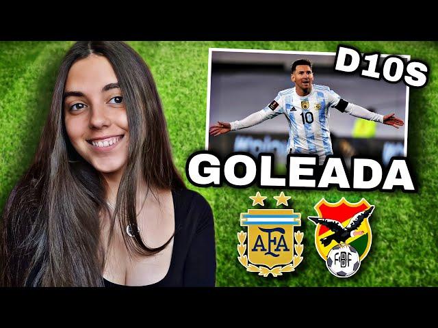 ARGENTINA VS BOLIVIA   Reacción de HINCHA URUGUAYA   Eliminatorias Qatar 2022