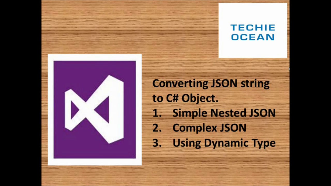 How to Convert JSON string to C# Object