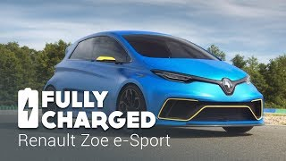 Renault Zoe e-Sport | Fully Charged