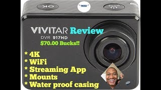 Vivitar DVR 917HD 4K Action Camera Review