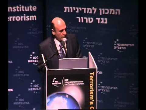 Talking Heads: Lt. Gen. (Res.) Shaul Mofaz at ICT