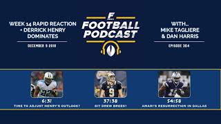 Week 14 Rapid Reaction + Derrick Henry Dominates (Ep. 304)