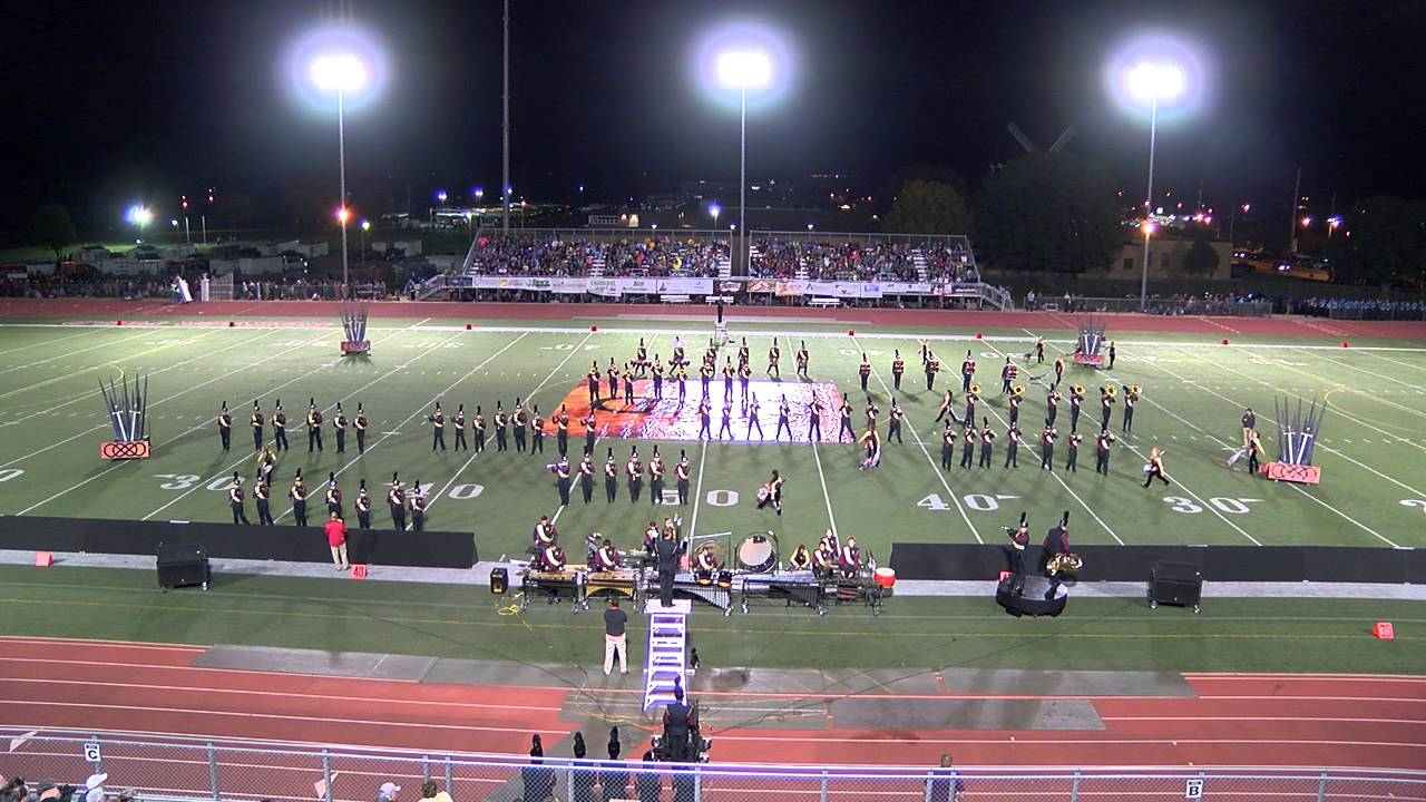 "Sioux Falls Roosevelt Marching Band at Orange City 2015 ""Revenge"""