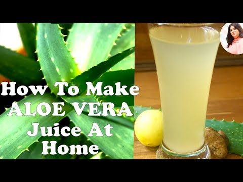 WATCH THIS VIDEO!!!! before making aloe vera juice at home, Remove Poison from Aloevera