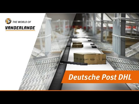 Sorting and logistics handling systems at Deutsche Post DHL