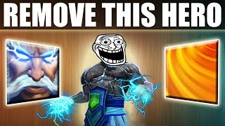 60 Kills in 27 min Game. The Most Annoying Bug Abuse in Dota 2 [Valve please Fix] Ability Draft