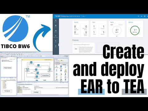 Create and Deploy EAR to To TEA ( TIBCO BW 6.x ) By Box3 Learning Solutions
