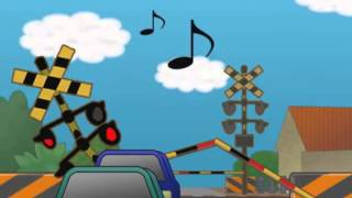 The Typewritter Song with Japanese Railroad Crossing Gates (Edit)