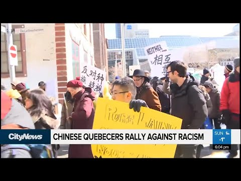 Chinese Quebecers rally against racism