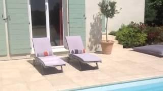 Immobilier Nîmes villa de prestige colline CASTANET 185 M2