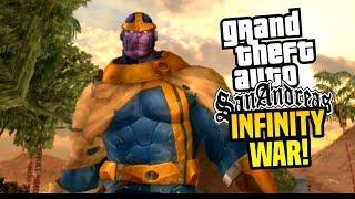GTA SA Android: Infinity War Mod!