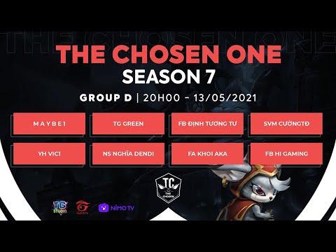 [ Game 3][BẢNG D ] The Chosen One 7 [13/05/2021]