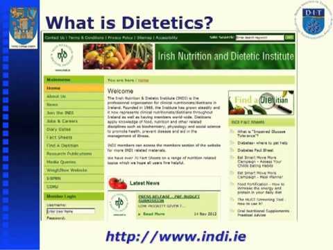 Human Nutrition And Dietetics Tcd Undergraduate Open Day 2012