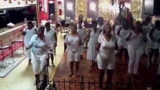 Line Dancing- Mississippi slide line dance - Elusive Ladies
