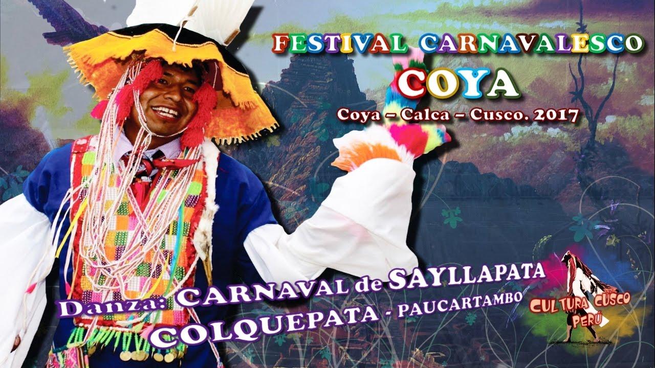Danza CARNAVAL de SAYLLAPATA Festival COYA 2017