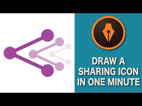 How to Draw a Share Icon in Ilustrator| #illustratortutorials