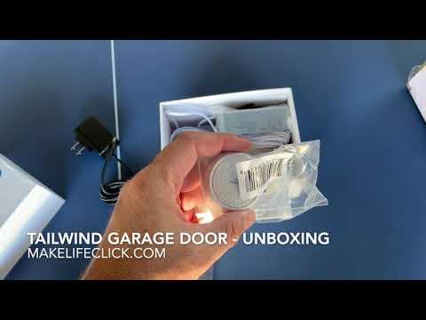 TailWind Garage Door Opener iQ3 -  Review Unboxing Video