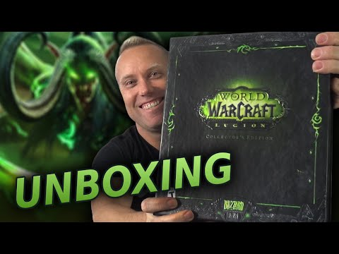 World of Warcraft: Legion Collector's Edition UNBOXING!