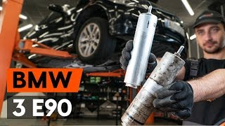 How to change Spotlight Bulb on BMW 3 (E90) - online free video