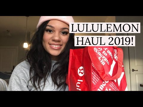 0a57859c249be0 LULULEMON TRY ON HAUL 2019! | Boxing Day Sale Part I - YouTube